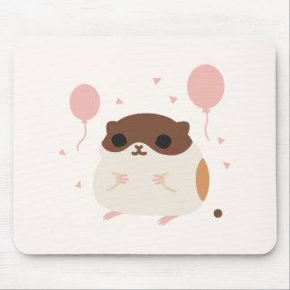 Happy Hamster's Perfect Morning Poop Mouse Pads