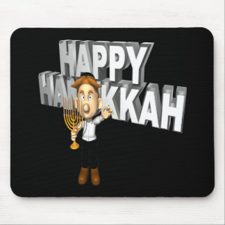 Happy Hanakkuh Mouse Pad