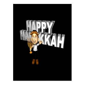 Happy Hanakkuh Postcard