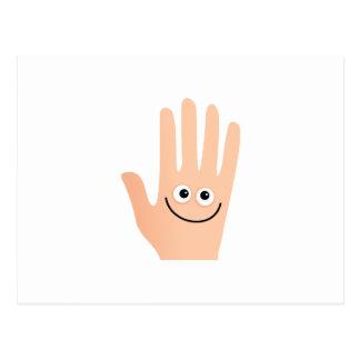 Happy Hand Postcard