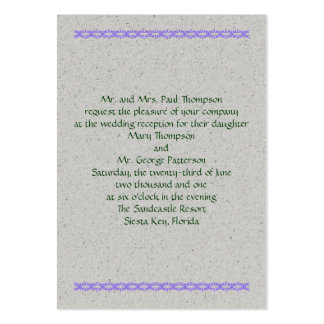 Happy Handfasting Large Business Cards (Pack Of 100)