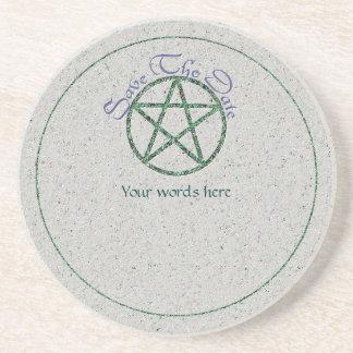 Happy Handfasting Coaster