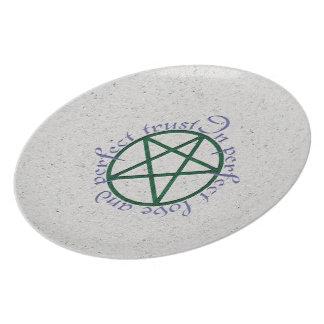 Happy Handfasting Dinner Plate
