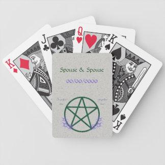Happy Handfasting Poker Deck