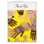 Happy Hands Wallpaper, Thank You Greeting Cards