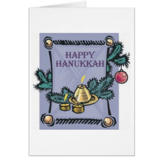 Happy Hannakah Greeting Card