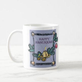 Happy Hannakah Classic White Coffee Mug