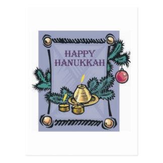 Happy Hannakah Postcard