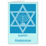 Happy Hannukah Greeting Card