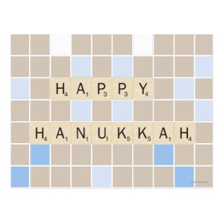 Happy Hannukah Postcard