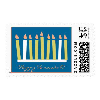 Happy Hannukah Stamp