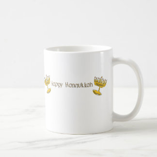 Happy Hannukkah Coffee Mug