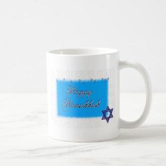 happy hannukkah star 5 coffee mug