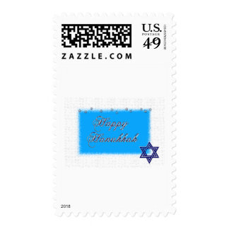 happy hannukkah star 5 stamps