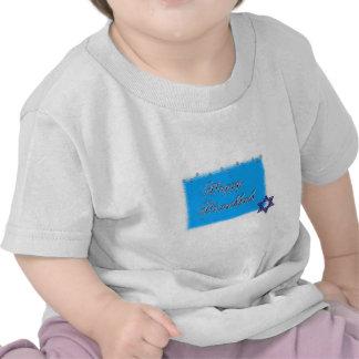 happy hannukkah star 5 t-shirt