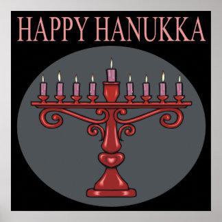 Happy Hanukka Poster