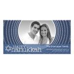 Happy Hanukkah  - 1 photo Photo Card