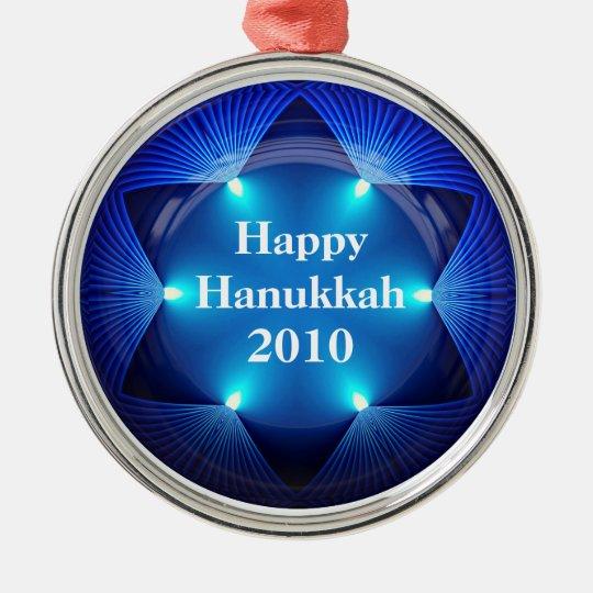 Happy Hanukkah 2010 Ornament