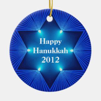Happy Hanukkah 2012 Ornament