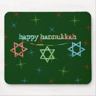 Happy Hanukkah – 3 Magen Davids Mouse Pad