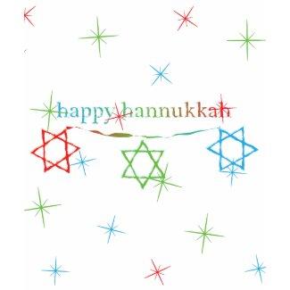 Happy Hanukkah – 3 Magen Davids shirt