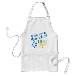 Happy Hanukkah Adult Apron