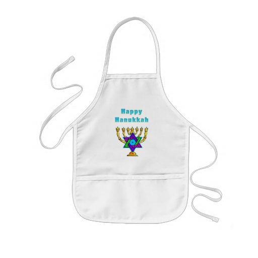 Happy Hanukkah Aprons