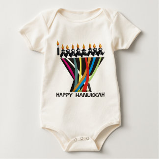 Happy Hanukkah Baby Bodysuit