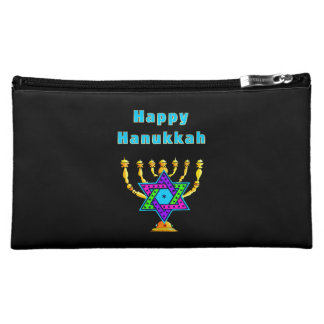 Happy Hanukkah Cosmetics Bags
