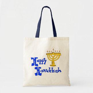 Happy Hanukkah Budget Tote Bag