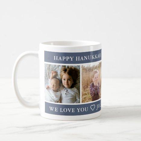 Happy Hanukkah Best Mom Custom Coffee Mug