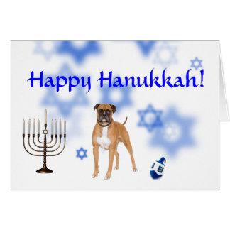 Happy Hanukkah Boxer Card