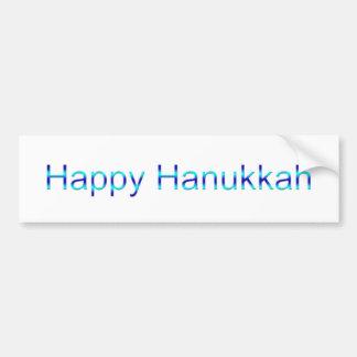 Happy Hanukkah Bumper Stickers