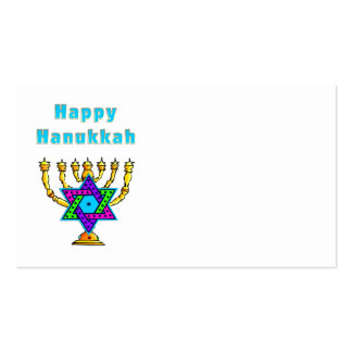 Happy Hanukkah Business Card