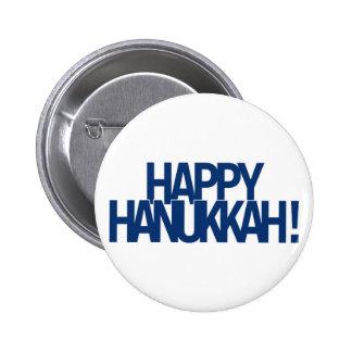 Happy Hanukkah! Button