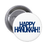 Happy Hanukkah Buttons