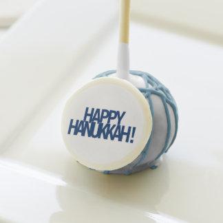 Happy Hanukkah! Cake Pops