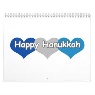 Happy Hanukkah Calendar