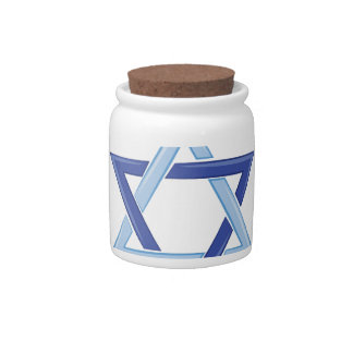 Happy Hanukkah Candy Jars