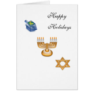 Happy Hanukkah Cards