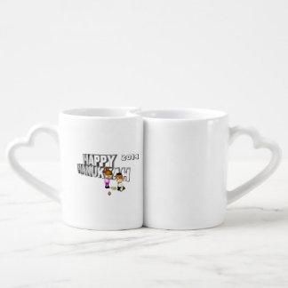 Happy Hanukkah Celebration - Couples' Coffee Mug Set