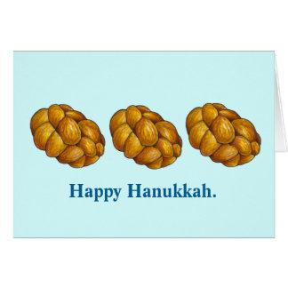 Happy Hanukkah Challah Bread Chanukah Cards