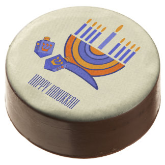 Happy Hanukkah / Chanukah Gift Chocolates Chocolate Covered Oreo