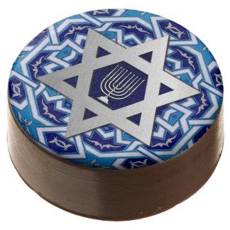Happy Hanukkah / Chanukah Gift Chocolates Chocolate Dipped Oreo