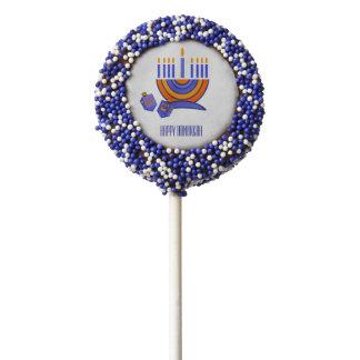 Happy Hanukkah / Chanukah Gift Cookie Pops