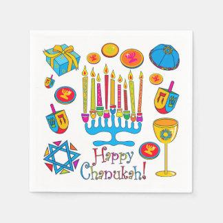 Happy Hanukkah - Chanukah Napkin