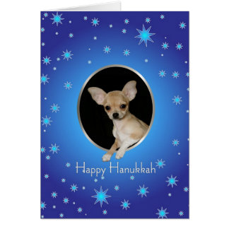 Happy Hanukkah Chihuahua Card