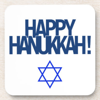 Happy Hanukkah Coaster