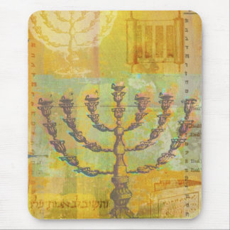 Happy Hanukkah Customizable GIfts and Tees Mouse Pad