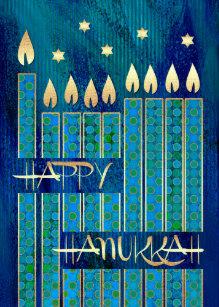 Hanukkah cards zazzle happy hanukkah customizable greeting cards m4hsunfo